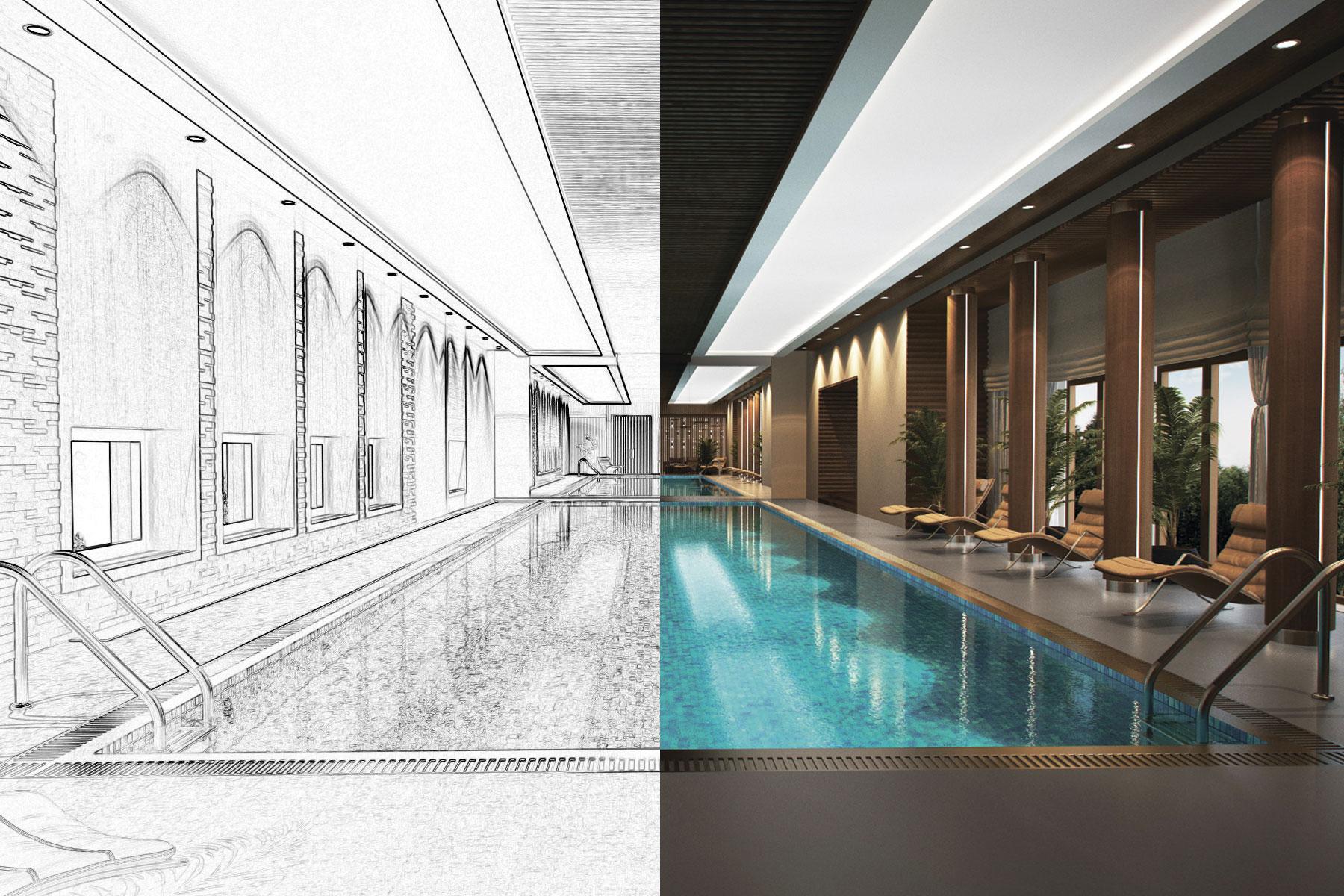Проектирование и дизайн бассейна