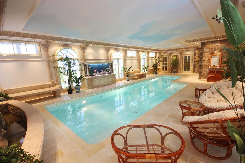 Реконструкция частного бассейна в полуподвальном помещении Allpools