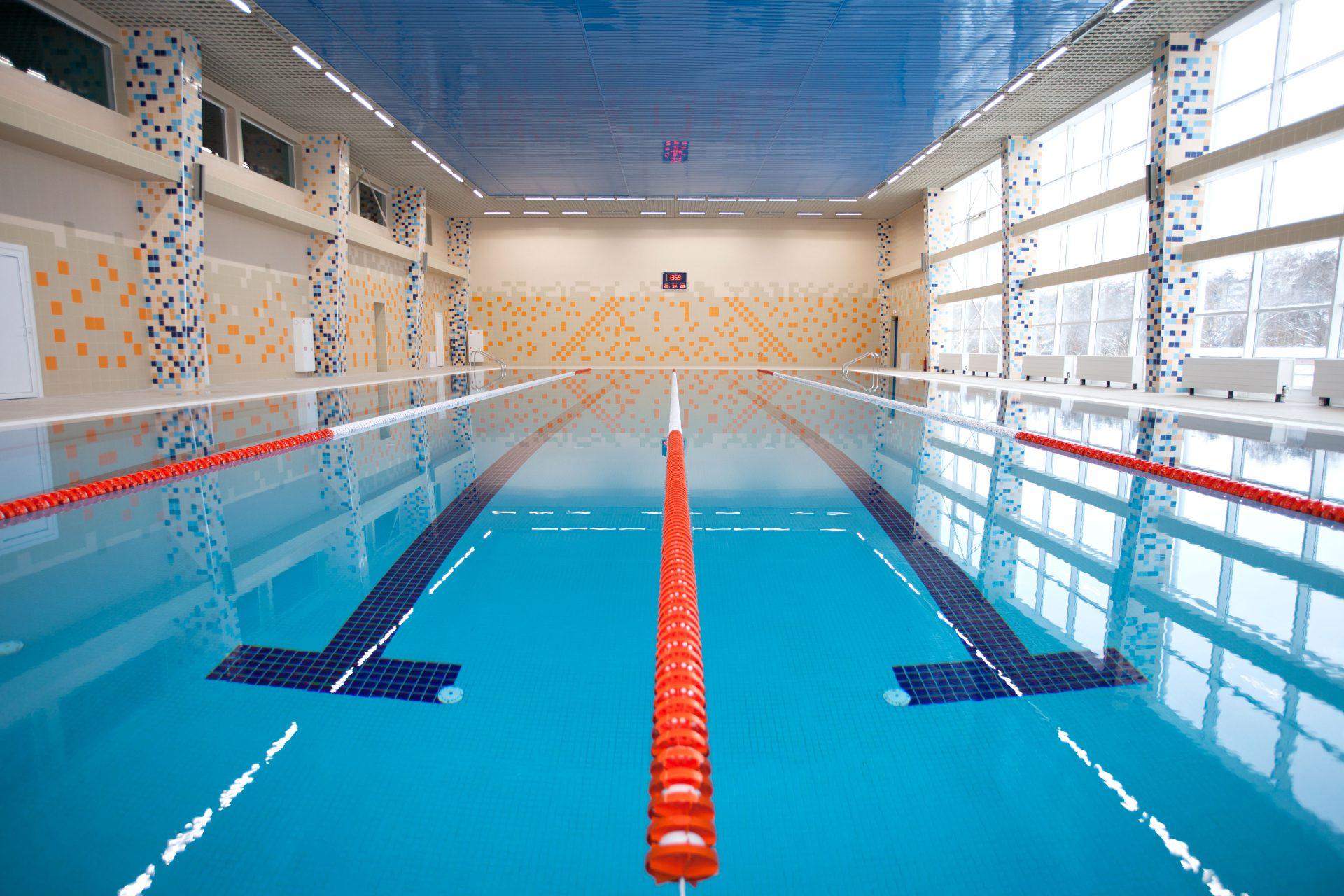 Общественный бассейн с 4 плавательными дорожками Allpools