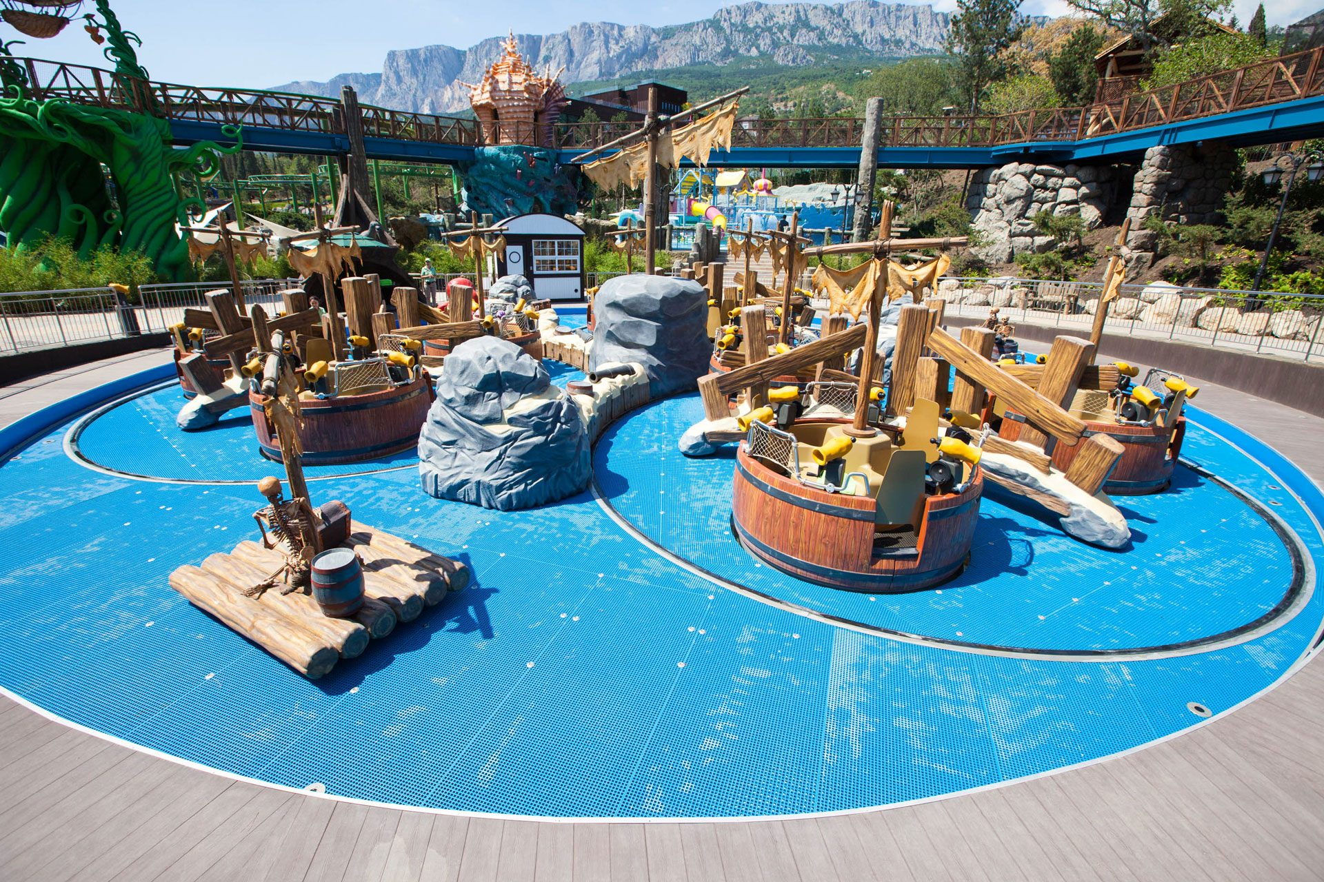 "MRIYA Resort & SPA - Детский бассейн с аттракционами ""Время приключений"" Allpools"