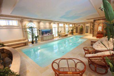 Реконструкция частного бассейна в полуподвальном помещении