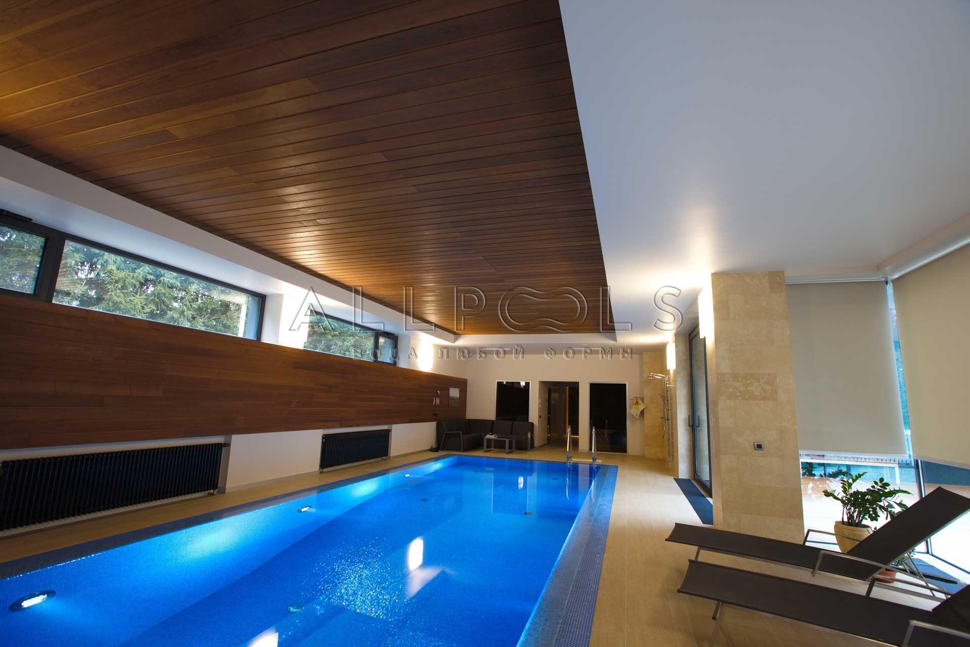Удобный бассейн для дома от Allpools