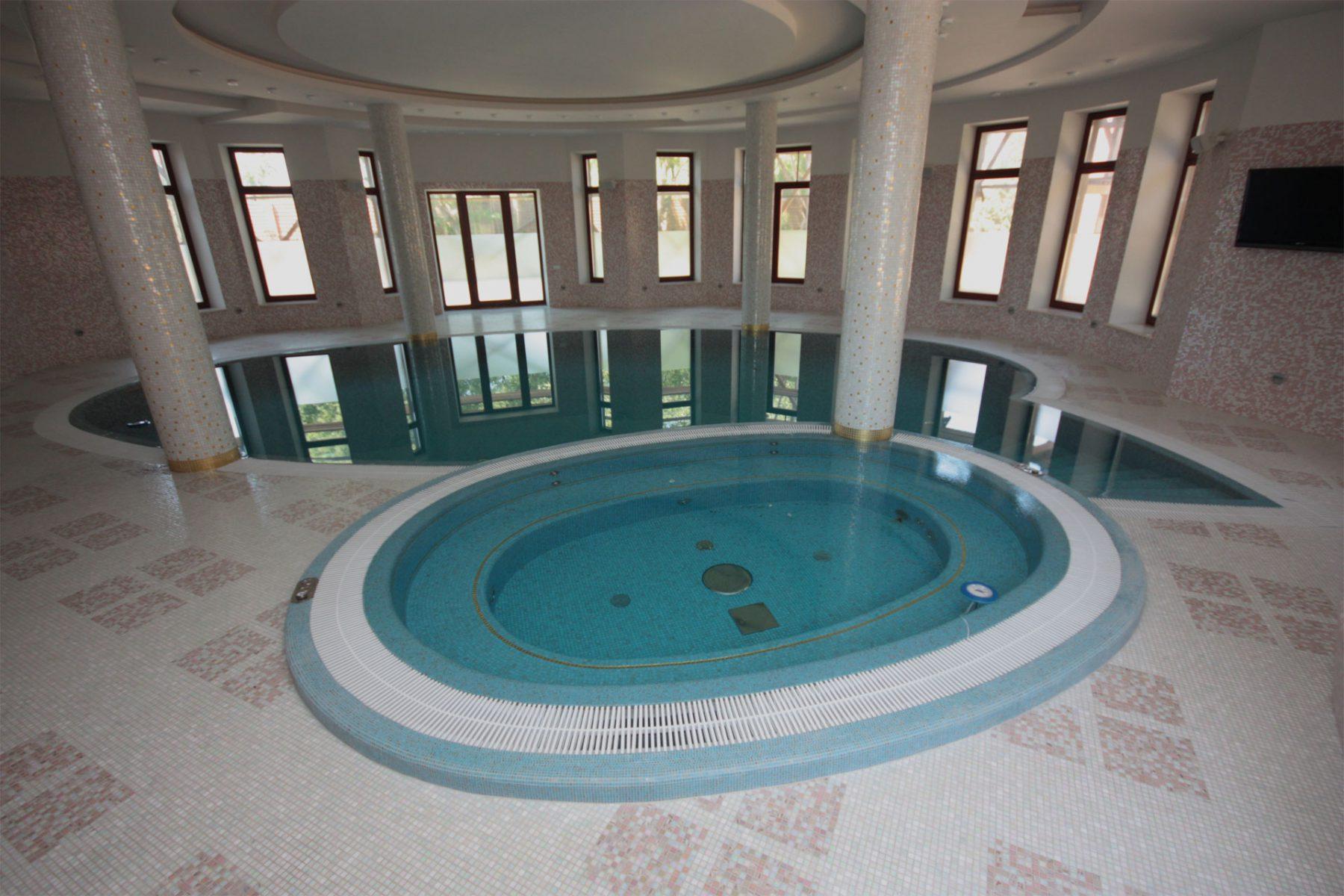 Реконструкция бассейнов и SPA Allpools